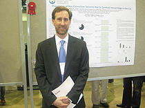 Dr. Jeffrey Politsky's research poster awarded top 10% ribbon