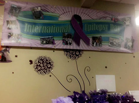 International Epilepsy Day in our Hackensack offices