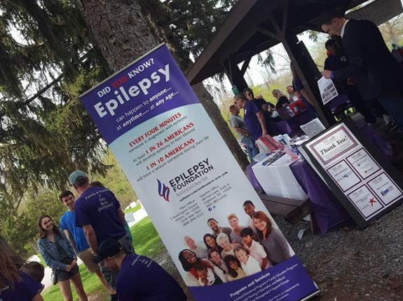 Northeast Regional Epilepsy Group sponsored lunch