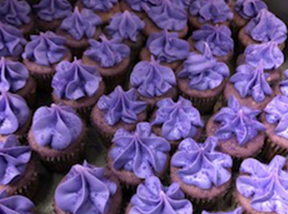 Delicious purple treats for International Epilepsy Day