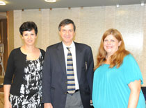 Dr. Lancman, Kelly and Lucy - team Northeast Regional Epilepsy Group