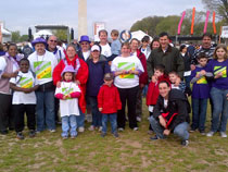 Team Northeast Regional Epilepsy Group at the National Epilepsy Walk