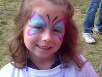 Danika, beautiful little team member walking for epilepsy