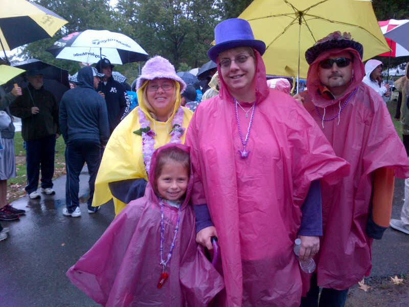 Team Northeast Regional Epilepsy group members: Mike, Mary, Fran and Danika.