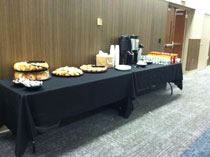 Breakfast at the epilepsy conference
